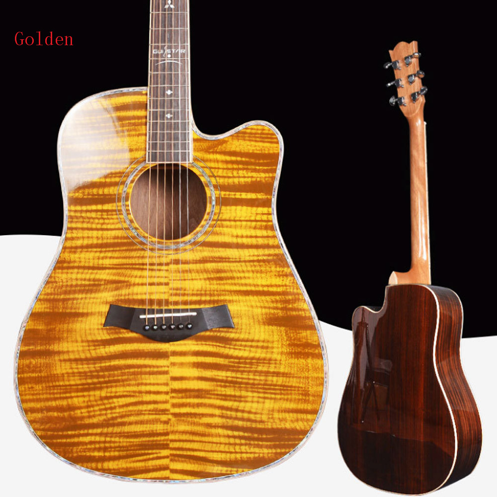 "Golden Brand China 41"" Acoustic Guitar"