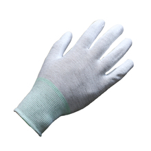 light duty white work PU glove