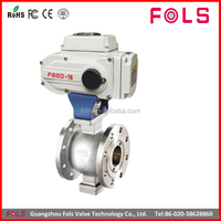 butterfly type cwx-15n electric ball stainless steel valve