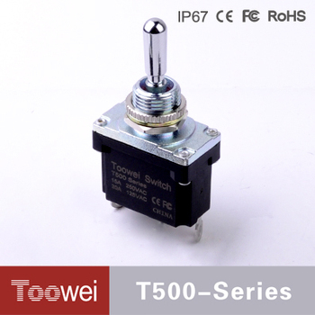 Toowei waterproof 2pin toggle switch for car use widely used