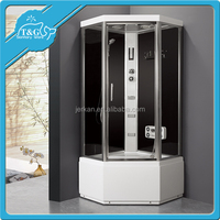 Wholesale china frameless glass portable shower screen