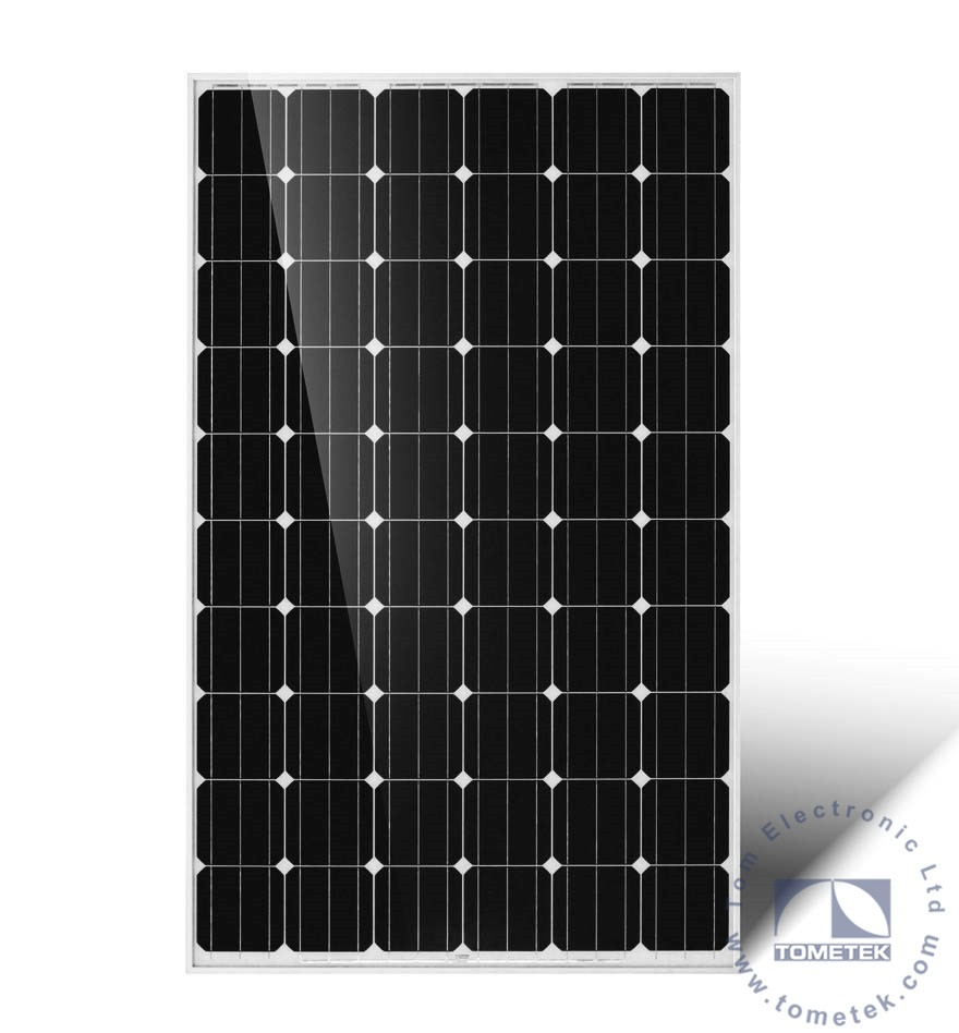 260W High Efficiency Mono Solar PV Module of thin film solar module in solar manufacturers price with UL TUV SONCAP