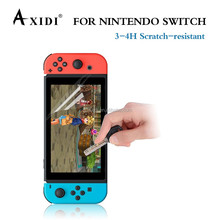 Clear HD Anti-Scratch durable anti-glare screen protector For Nintendo Switch