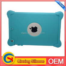 shockproof case for ipad mini in soft silicone