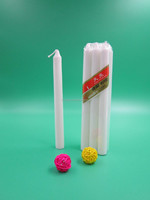 direct factory wholesale retail white candle/white candle 8X65 shrink bag