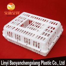 custom plastic crate with lid commercial rabbit cages duck transport cage