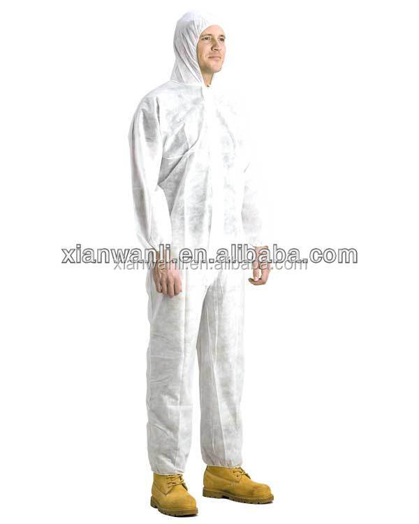 Disposable SBPP Chemical Coverall,working coverall,safety coverall