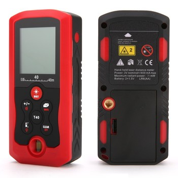 China 40M/131ft/1575in Digital Handheld Laser Distance Meter Rangefinders SV009326