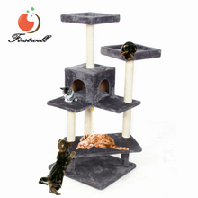Cheap Luxury Indoor Pet House Toys Small Cat Tree Tower