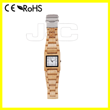 2015 newest bamboo wrist watch, digital wood watch mobile phone with wooden watch box