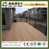 New design anti-uv wpc decking boards low price wpc floor outdoor anti-slip wpc composite decking timber