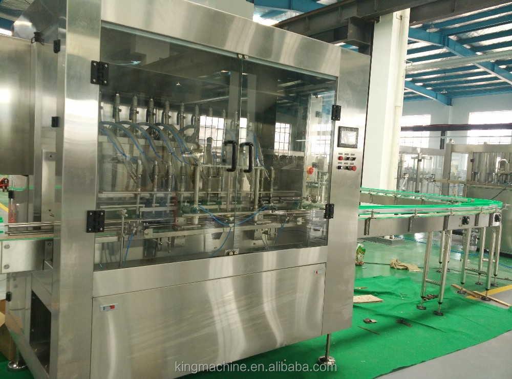 Automatic cbd or vegetable oil filling machine