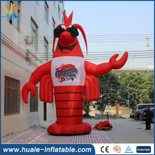 New advertising inflatable model, giant inflatable lobster for sale