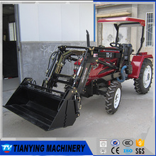 New condition 2017 lawn tractor mini front end loader with cheap price