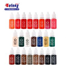 Solong tattoo supply safey eyebrow microblading tattoo pigment