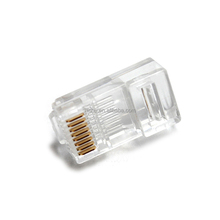 High quality Plastic Wire Connector Ethernet Cable 8 Pin RJ45 Connector
