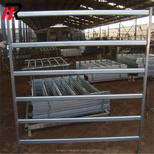 1.8mx2.1m 5 or 6 rails pre hot dipped galvanized cattle/sheep yard panel