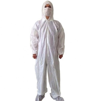 Non-woven protective disposable safety clothing