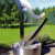 Hot products Outdoor Garden 2 meters Stainless steel harp water fountain WY-SS16