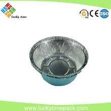 Disposable Small Round Aluminium Foil Tart Tray For Cake Packing