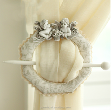 European-style resin lace curtain clip antique curtain hook