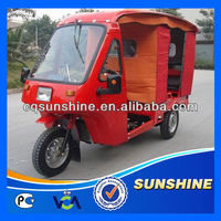 Favorite Modern used tarpaulins tricycle with roof