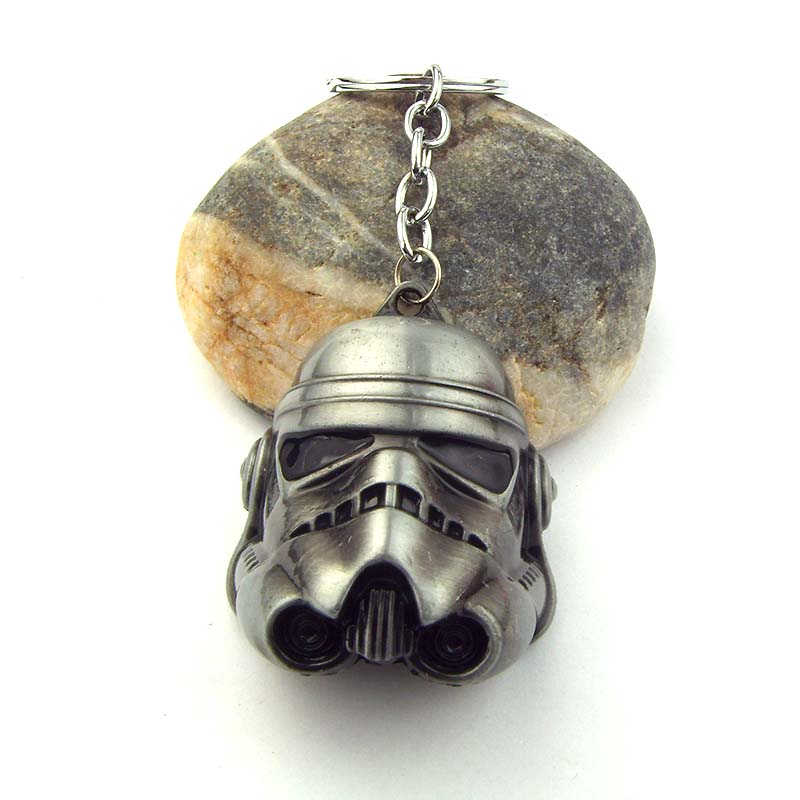 Stormtrooper metal keychain key chain gift new 290