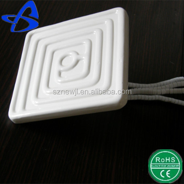 high quality industrial heating element 122*122MM square infrared ceramic heater