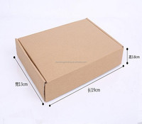 Small Mail Paper Customized Printed Corrugated paper shipping box