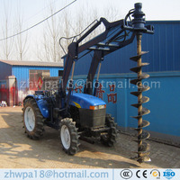 Tractor post hole digger/pile driver/drilling rig Auger drill