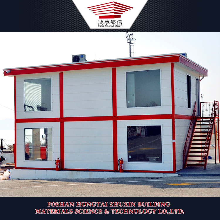 Residential Steel Prefabricated Container House Mobile Workshop Movable Home