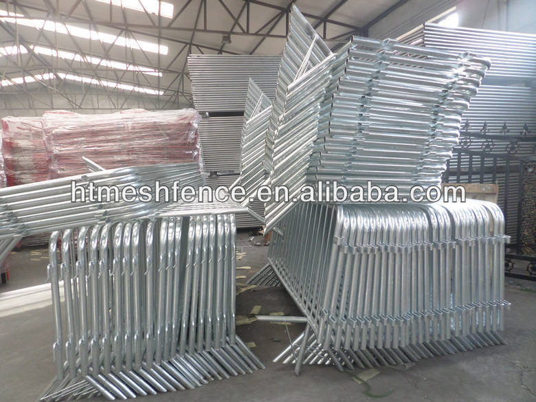 traffic Modular barricade/ Portable Event Temporary Barrier Fence /security barricades