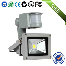 Two years warranty 10w led floodlight warm white with motion sensor