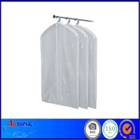 Clear Disposable Plastic Suit Garment Package Bag
