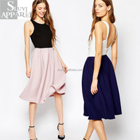 Wholesale Clothing Ribbed V Back Zip Fastening Slim Midi Dresses For Women Dresses Online Shopping Western Dresses Names Photos