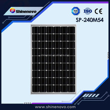 Hot sale 240w top quality panel solar for sale