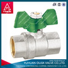 female and female high temperature long stem ball valve seat ring