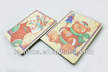 Xmas Snowman Hard Skin Case Stand Tablet Cover for iPad 2 3 4