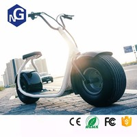 Electric Citycoco Motorbycle Two Wheels Scooter Big 18*9.5inch Two Wheels Sit Down Self Balancing Scooter Electric Motorcycle