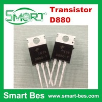 Smart bes 100% New and Original Hot Sale Diodes Transistor D880 NPN TO-220 Wholesale Transistor D880