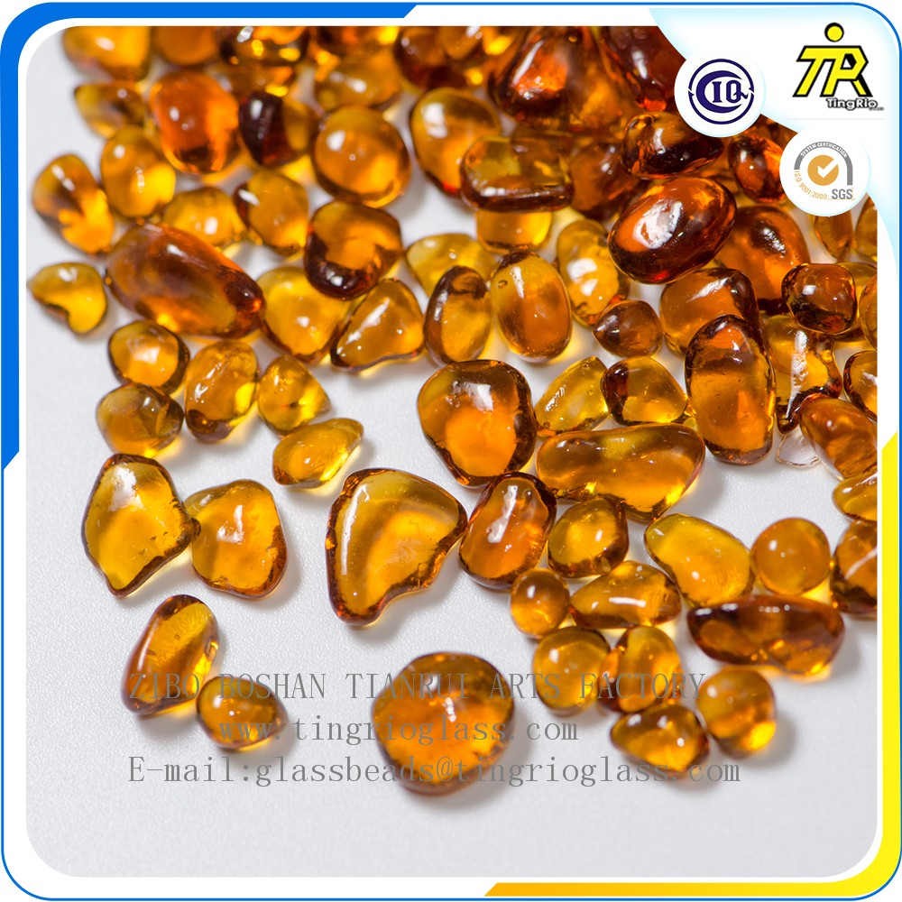 Zibo Tianrui high quality color glass crystal beads 1-3mm without recycle materials