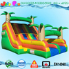 tropical dual lane large inflatable swimming pool slide for sale