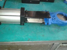 DN50-DN450 Pneumatic Knife Gate Valve with Protection Plate