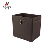 Promotional various durable using non woven foldable storage box, storage box for ornament