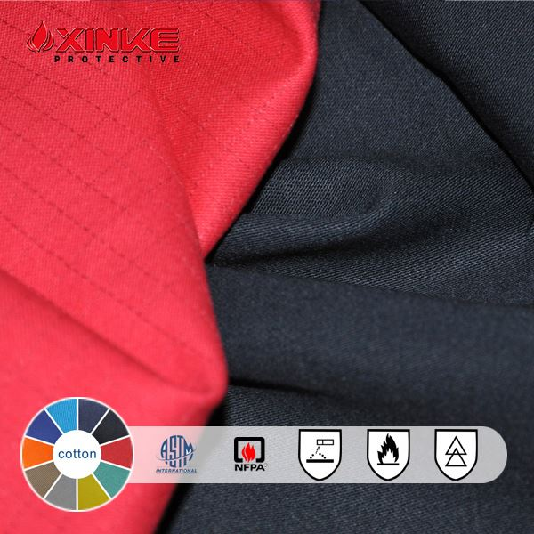 cotton water repellent aramid fabric