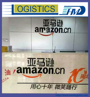 Glass cup Amazon FBA air shipping to United States