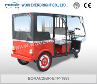 new type electric tricycle for passenger with soft seats