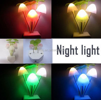 HOT sale baby night light evening lamp led wall light best sale new shape mushroom flashing light