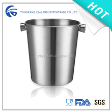 Zeal copper plating color beer 3800ml stainless steel large ice bucket