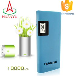portable 18650 battery cells power bank with high capacity 10000mah